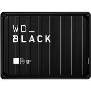 WD BLACK P10 Game Drive 4TB, fekete