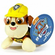 Paw Patrol - Mini jucarie de plus Rubble