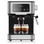 Espressor cu Cappucino Studio Casa ONE TOUCH 1100W 1.5 l 15 bari Functie oprire automata Negru/Argintiu
