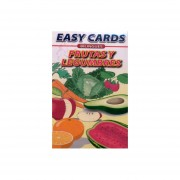 EASY CARDS BILINGUES FRUITS AND VEGETABLES / FRUTAS Y LEGUMBRES