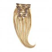 Clip-On Par Natural 30cm 80gr Blond Miere Suvitat/Blond Deschis #27/60