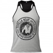 Gorilla Wear Roswell Tank Top - Gray/Black - S