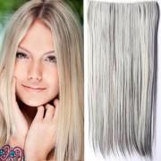 Clip in vlasy - 60 cm dlouhý pás vlasů - odstín (F6/613 (melír tmavě plavé v beach blond)) - Světové Zboží