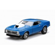 1971 Ford Mustang, Blue Sun Star 3616 1/18 Scale Diecast Model Toy Car