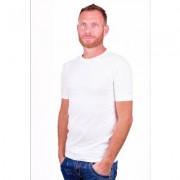 Alan Red T-Shirt Ottawa White ( two pack) ( stretch )