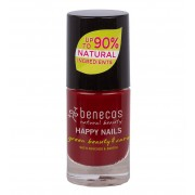 Benecos Vernis à ongles naturel et vegan 5 ml - 07 - Cherry red