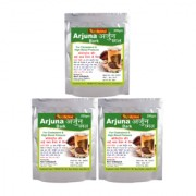 NutrActive Arjuna bark for Cholesterol Reduction 200 gm Pack of 3