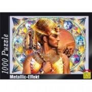 Puzzle cu efect metalic 1000 piese model Ramses