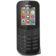 Telefon Mobil Nokia 130 (2017), Dual Sim (Negru) + Cartela SIM Orange PrePay, 6 euro credit, 6 GB internet 4G, 2,000 minute nationale si internationale fix sau SMS nationale din care 300 minute/SMS internationale mobil UE