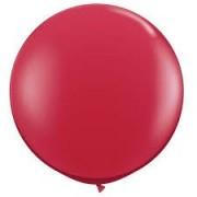 Balon latex rosu 45cm