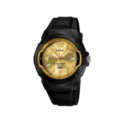 Reloj CASIO MW-600F-9AVCF 10 Year Battery Collection Análogo Con Calendario-Negro