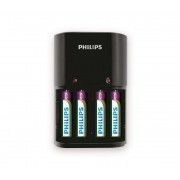 Philips SCB1450NB/12 - Incarcator baterii MULTILIFE 4xAAA 800 mAh 230V