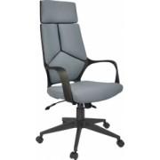 Scaun de birou ergonomic Fox Fenix HB Negru/Gri Mecanism Anyfix Stofa