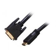 Cable adaptador video HDMI a DVI-D Startech de 9.1m macho a macho, HDMIDVIMM30