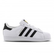 adidas Originals Superstar Leather - Kinderen Platte Sneakers