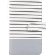 Fujifilm Instax Mini 9 Striped Album smokey white 108 Photos
