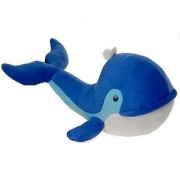 Blue Whale Plush Stuffed Animal Toy by Fiesta Toys - 23