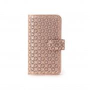 ヒロコ ハヤシ HIROKO HAYASHI GIRASOLE(ジラソーレ) 手帳型iPhoneケース (ピンク) レディース