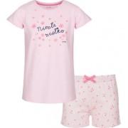 Piżama z krótkim rękawem dla dziewczynki 3-8 lat