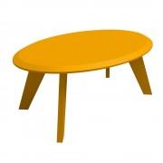 Bertolini mesa de centro bertolini ellis amarillo