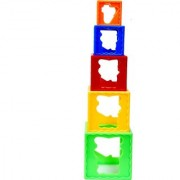 Montez Stack Cube Play Learn Fun - Multicolor