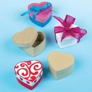 Cutiute din carton Inimioare Baker Ross