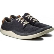 Clarks Mapped Edge Blue Combi Outdoors For Men(Multicolor)