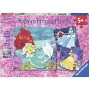Puzzle Aventura Printeselor Disney 3X49 Piese