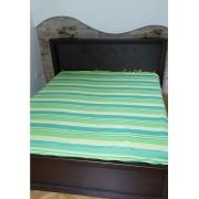 Indiai ágytakaró /zöld/