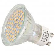 [lux.pro]® Foco empotrable SMD bombilla LED SPOT GU10 230V HI-POWER 54 SMDs - luz blanca cálida