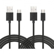 iXCC Element 10 Feet cro USB to USB 2.0 Charge and Sync Cable USB A to cro B Cable for Android/Samsung/Windows/MP3/Camera and other Device-Pa of 2
