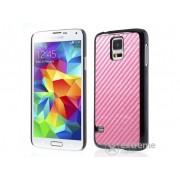 Husă din plastic Gigapack pentru Samsung Galaxy S V. (SM-G900), roz (conform producătorului)