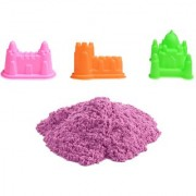 UNTOLD 500GM MAGIC SAND COLORFUL SAND WITH 3 PIECE MOLDS - PINK COLOR