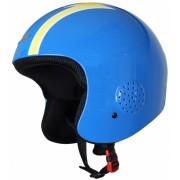Eassun skihelm Apache Racing unisex blauw/geel maat 57/59