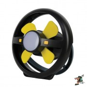 Oztrail Portable Rechargeable Fan and LED Light
