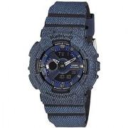 Casio Analog Blue Round Watch - BA-110DC-2A1DR (BX048)