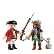Playmobil Playmobil Pirate and Sodier 9446 Duo Pack Figures