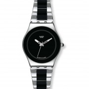 Reloj Swatch YLS168GC-Plateado Con Negro