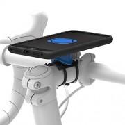Quad QLK-BKE-I7PLUS Bicicleta Passive Holder Negro, Azul Soporte (Teléfono móvil/Smartphone, Bicicleta, Soporte pasivo, Negro, Azul, iPhone 7 Plus, Montaje de Abrazadera)