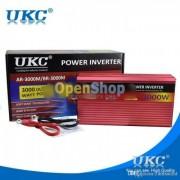 Висококачествен инвертор UKC 3000W 24V