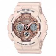 casio GMA-S120MF-4A reloj digital analogico serie S g-shock - rosa claro + oro rosa