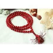 Red Agate/Hakkik 108 Beads Buddhist Prayer/Japa/Rosary/wearing/Fashion Wear Mala