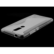 Wave Case for LG Nokia 5.1 - Nokia Soft Cover (Clear)