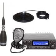 Pachet statie radio CB Avanti Kappa II PRO-version + Antena radio CB Sirio MW 4000 + Baza magnetica 170 PL