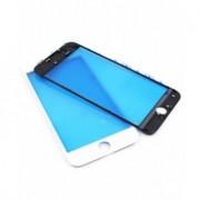Geam sticla cu rama si OCA Apple iPhone 8 Plus Alb