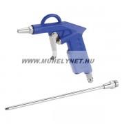 Lefújó pisztoly levegõhöz két fúvókával full fém felépítés Extol Premium