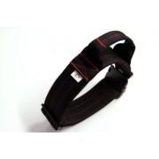 Extra Breites Halsband Doppelt gesteppt mit Handgriff XL - XXL
