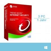 Trend Micro Internet Security 2018, 3 Geräte - 1 Jahr, Download
