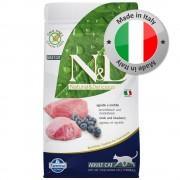 N&D Grain Free Cat Farmina N&D Grain Free Adult Cat Agnello e Mirtilli - 2 x 5 kg