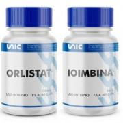 Kit Orlistat 120mg 60 Caps + Ioimbina (Yohimbine) 5mg 60 Caps